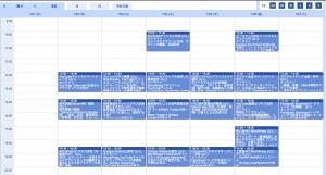 2018年上半期のITコンサルティングスケジュール/ IT consulting schedule in the first half of 2018
